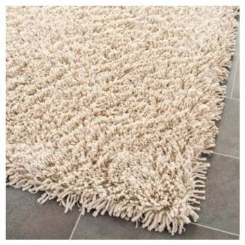 "White Solid Tufted Runner - (2'3""x12') - Safavieh"