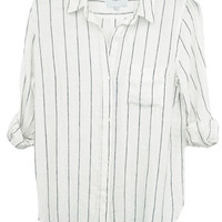Charli - White/Ink Stripe - Rails