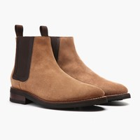Honey Suede Duke Chelsea Boot | Thursday Boot Company