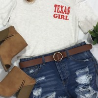 Texas Girl French Terry Top