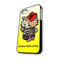Zombie Hello Kitty yellow iPhone 4/4S Case