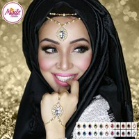 Madz Fashionz UK: Fatiha World Chandelier Headpiece Matha Patti