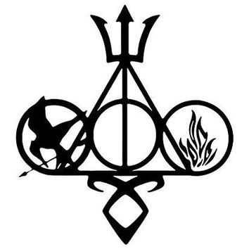 Fandom Harry Potter  Vinyl Car/Laptop/Window/Wall Decal