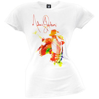 Michael Jackson - Pastel Dancer Juniors T-Shirt