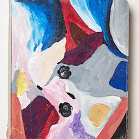 Handpainted Abstract Journal