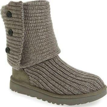 DCCK8X2 UGG? 'Classic Cardy II' Knit Boot (Women) | Nordstrom