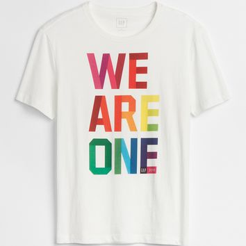 PRIDE Graphic Crewneck T-Shirt|gap