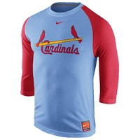 Nike MLB Cooperstown Tri-Blend 3/4 T-Shirt - Men's at Champs Sports