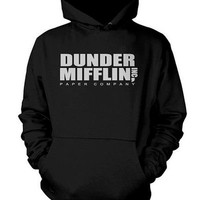 Dunder Mifflin hoodies sweatshirt custom clothing Unisex