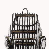 Bold Striped Backpack | FOREVER21 - 1076271786