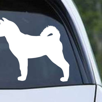Akita Dog (02) Die Cut Vinyl Decal Sticker