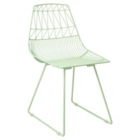 I liked this design on #Fab. Lucy Side Chair Mint