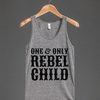 ONE AND ONLY REBEL CHILD TANK TOP (IDE191845)