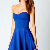 Polly Bandeau Skater Dress