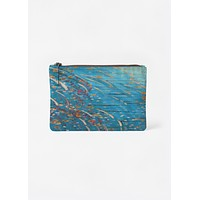 Forest in blue pouch