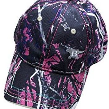 Buck Knives 89095 Logo Cap Muddy Girl Camo