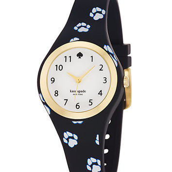 Kate Spade Paw Print Rumsey Black ONE