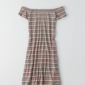 AEO Off-The-Shoulder Dress , Purple