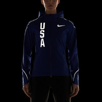The Nike Hypershield Team USA Women's Running Jacket.