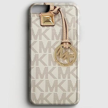 Michael Kors Mk Bag Texture Print iPhone 8 Case