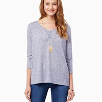 Andy V Neck Tee | Fashion Apparel | charming charlie
