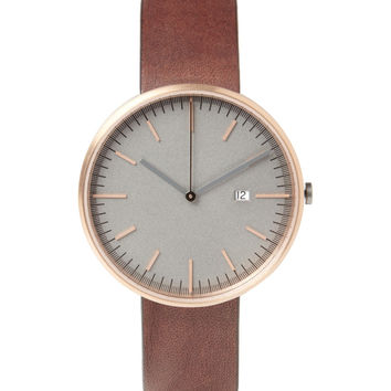 Uniform Wares 203 Series Rose Gold-Plated Steel Wristwatch | MR PORTER