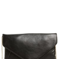 Halogen 'Day to Night' Leather Envelope Clutch