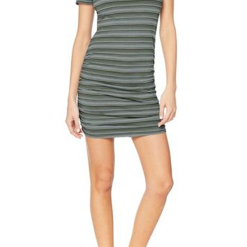 Michael Stars Kali Striped T-Shirt dress | Nordstrom