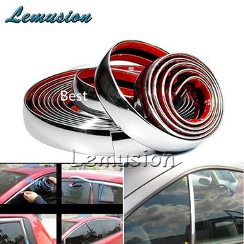 Car Sticker Chrome Decor Strip For Chevrolet Cruze Aveo Captiva Lacetti TRAX Sail Epica For Acura MDX RDX TSX Accessories