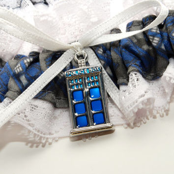 Doctor Who Wedding Garter