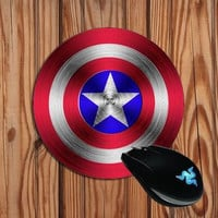 Captain America mouse pad S 220*180*2(MM) Desktop computer mouse pad Gaming Mouse pad FF-MP3