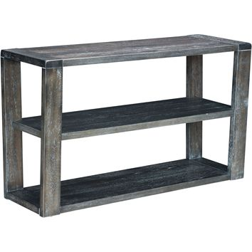 Skyline Console Table, Gray