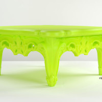 Fabulous and Baroque — Duke of Love Cocktail Table - Pure Green