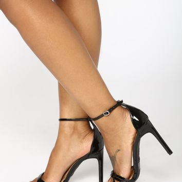 Georgia Strappy Heel - Black