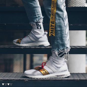 hcxx OFF WHITE x Ultra Boost Uncaged ( Tmall ORIGINAL )