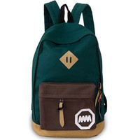 2016 Women Backpack casual travel bag Fashion School Bag [6 colors] Canvas Shoulder Bags Cheap Price FREE SHIPPING
