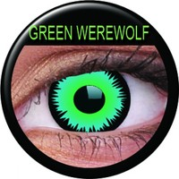 ColourVue Green Werewolf Coloured Contacts