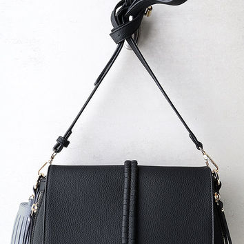 Measure Up Black Purse
