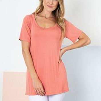 Knot This Way Top In Carribean By Simply Noelle S/M