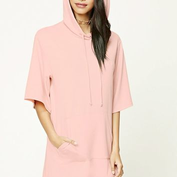 Longline Hooded Top