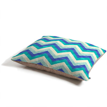 Jacqueline Maldonado Chevron Ocean Pet Bed