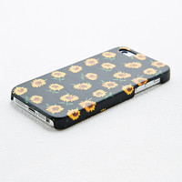 Sunflower iPhone 5 Case in Black - Urban Outfitters