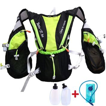 ULTRA-TRI Trail Running Backpack Lightweight Outdoor Sports Bag Hiking Camping Race Training Vest Pack 8L