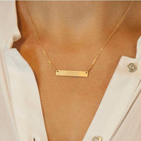 Cupshe Boutique Simple Pendant Necklace