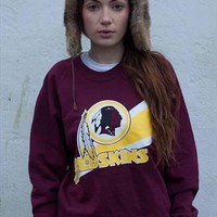 washington redskins-nfl-american football comfy sweatshirt from jackalope