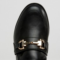 New Look Buckle Loafer at asos.com