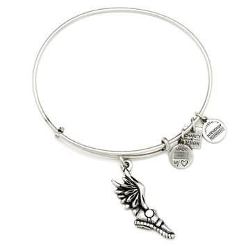 Alex and Ani Champion Charm Bangle - Russian Silver