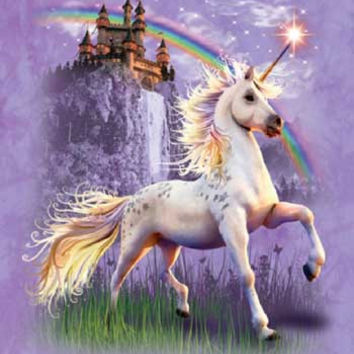 Unicorn Castle Signature Queen Blanket - Free Shipping in the Continental US!