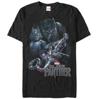 Marvel Men's Black Panther 2018 Character View T-Shirt - Walmart.com