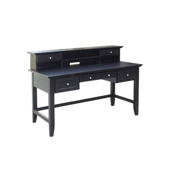 Home Styles Furniture 5531-152 The Bedford Executive Desk/Hutch Combo